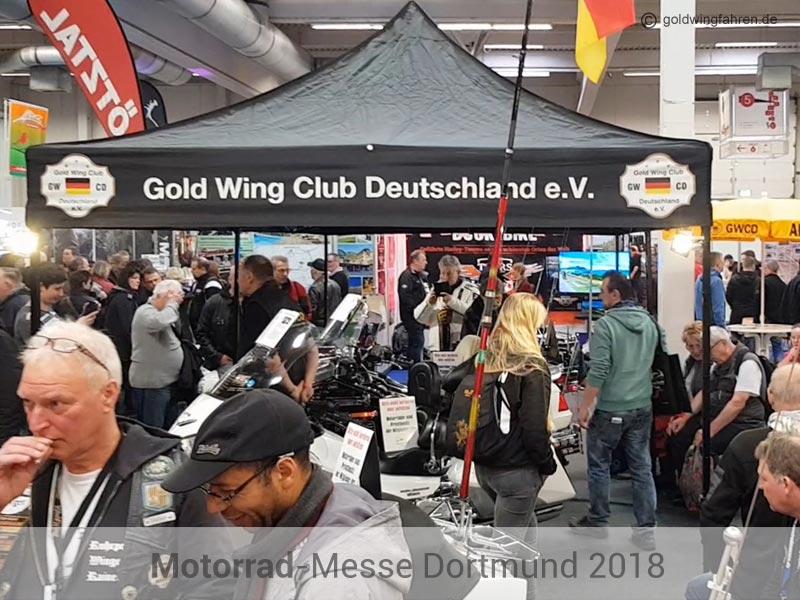 GWCD Messestand Motorradmesse Dortmund 2018