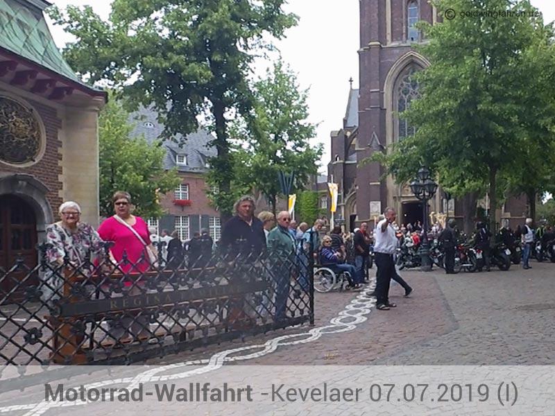 Motorradfahrer-Wallfahrt mit Gottesdienst in Kevelaer 2019