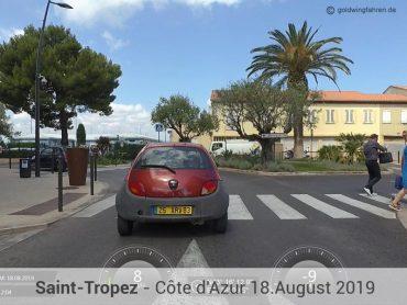 Mit der Goldwing nach Saint-Tropez