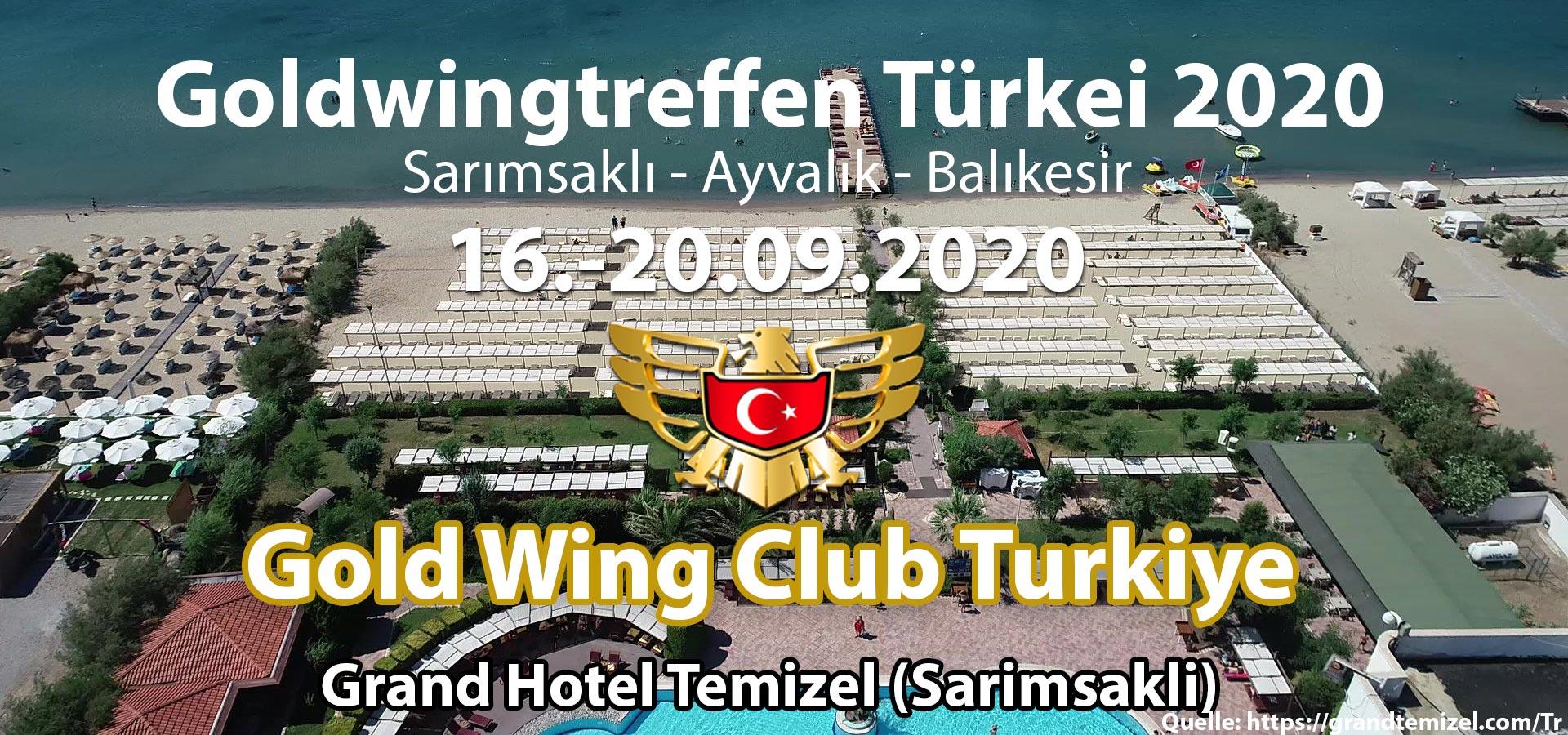goldwingtreffen türkei 2020 im grandhotel temizel ayvalik