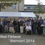 Goldwingtreffen der Wupperwinger Färberei Stennert in Wuppertal 3.10.2014